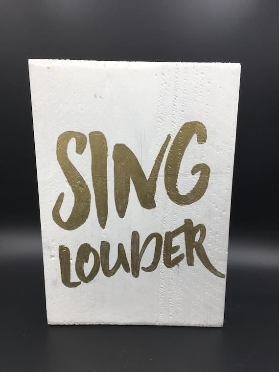 Sing Louder