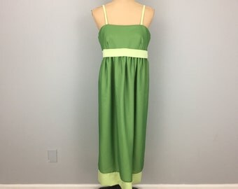 Short Formal Prom Dress Bridesmaid Dress Sleeveless Chiffon Dress Empire Waist Lime Green Color Block Dress Large Womens Clothing