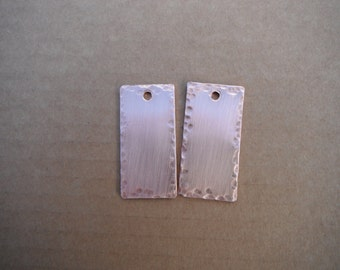 Solid Copper Key Fobs