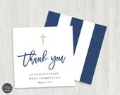 Thank You Favor Tags | Baptism or Communion Thank You Favor Tags | Digital (2.5x2.5)