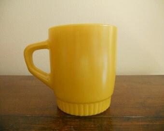 Gold Anchor Hocking Fire King Mug