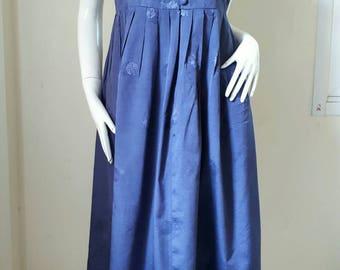 Vintage Korean Hanbok/ Silk Dress Fit Medium