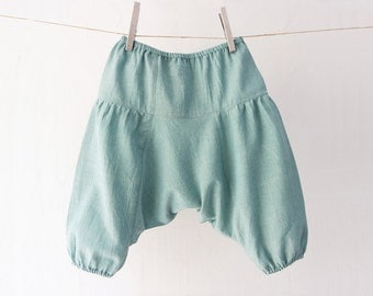 Baby and Kid's Organic Cotton Harem Pants