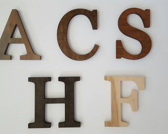 Letter H Wall Decor wooden letter e erythronium flower 10 x 8 tall