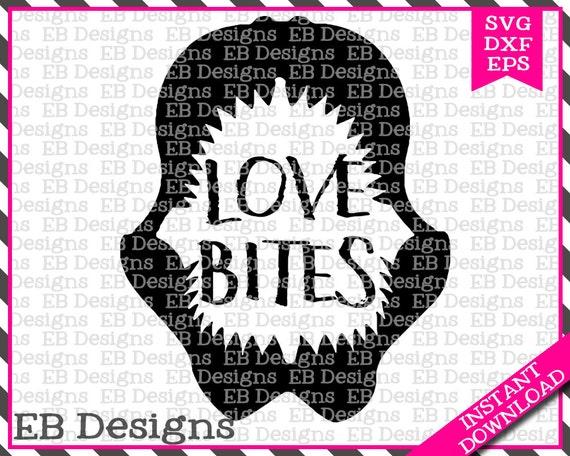 891+ Love Bites Svg File