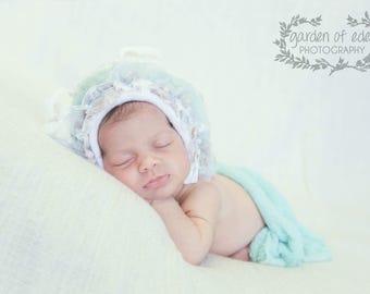 New Born Lamb Bonnet
