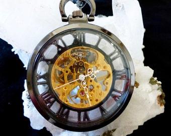 Regal Pocket Watch - Gunmetal
