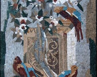 Beauty of Nature Mosaic Stone Art