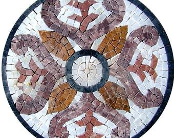 Round Accent Mosaic - La Vita