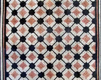 Diamond Geometric Mosaic Tile - Kade