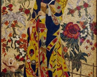 Geisha Marble Mosaic Art