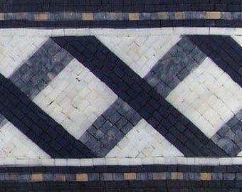 Handmade Mosaic Border