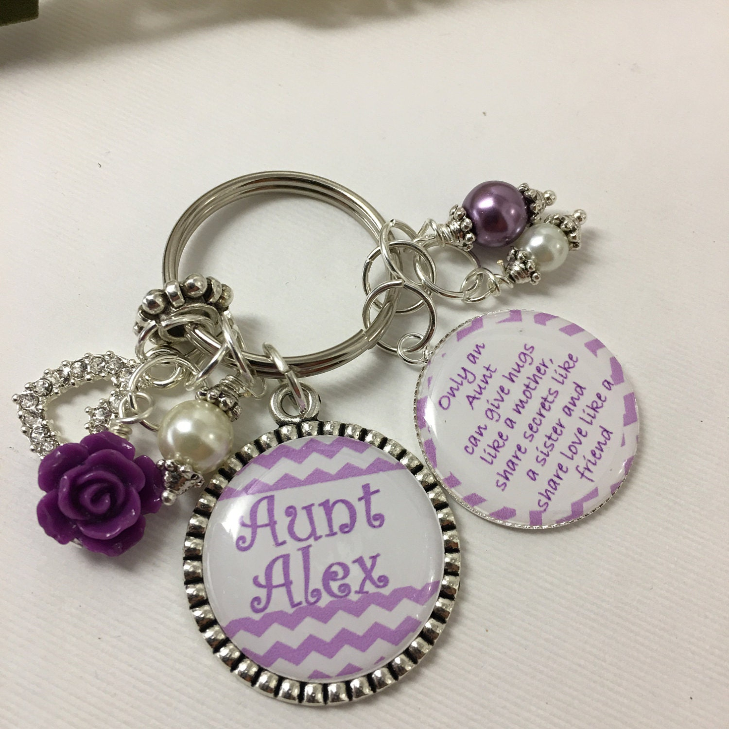 Wedding Gift For Aunt: Aunt Gifts Auntie Keychain Aunt Wedding Gift Aunt Bling