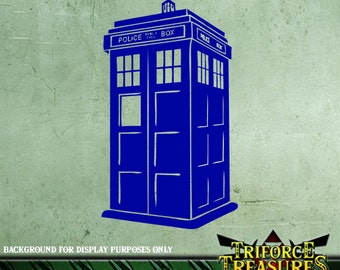 Doctor Who Tardis Sticker / Decal