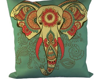 Elephant_Throw Pillow