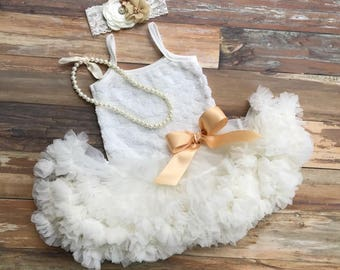 First Birthday Outfit Girl. Baby Girl 1st Birthday Outfit. Tutu Dress. Cake Smash Outfit Girl. Baby Girl First Birthday Outfit.