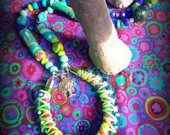 """Necklace mid-length """"tree of life"""""""