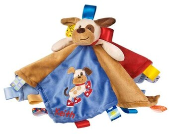 Personalized TAGGIES™ Blanket for Boys