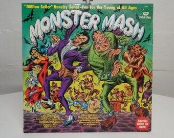 Monster Mash 1977 Vinyl LP [Peter Pan 8126 ]   FREE SHIPPING