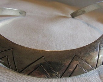 Sterling Silver Collar Necklace from Mexico