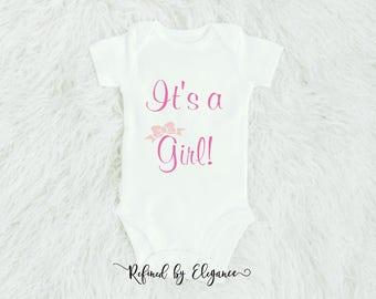 Gender Reveal Onesie | It's a Boy onesie | Newborn onesie | Personalized Onesie |Baby shower gift