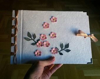 book, book, craft guestbook, bookbinding, japinesa binding