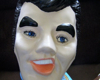 "Vintage Ceramic Painted Elvis Statue - 15"" Tall"