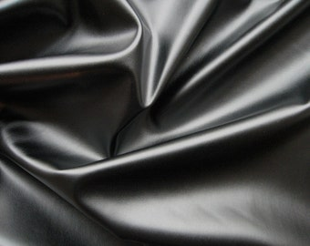 "Stretch Faux Leather Legging Fabric, Faux Leather, Pleather 34"" left"