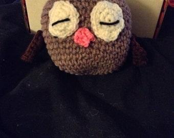Mr hoots the sleeping owl
