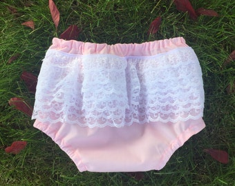 Solid Color Bloomers. Boy or Girl Plain Diaper Cover. Made to Order
