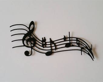 Musical Notes Die Cuts