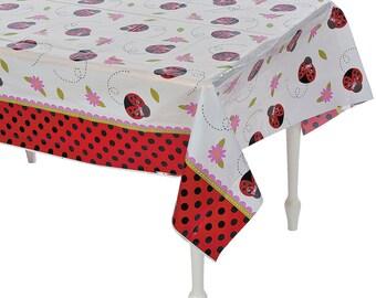 My Beautiful Ladybug tablecloth   / ladybug theme /