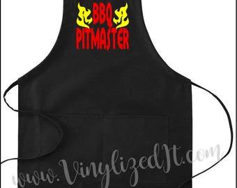Custom - BBQ Pitmaster - apron