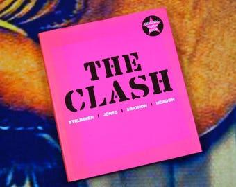 The Clash: Strummer, Jones, Simonon, Headon Coffee Table Book