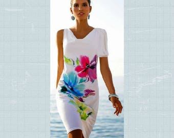 Elegant White Detachable Flutter Sleeve