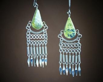 boho jewelry gift for her bohemian jewelry boho earrings boho jewelry dangle earrings gift for women boho chic bohemian gypsy jewelry
