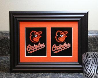 Baseball Art Baltimore Orioles Baseball Birthday Baseball Display Baseball Room Decor
