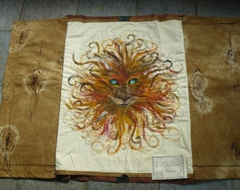 Textile panel inspired by the Chronicles of Narnia