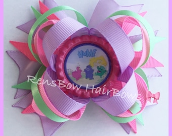 Humf Inspired Hair Bow Clip