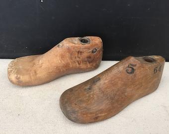 Wood shoe form   Etsy