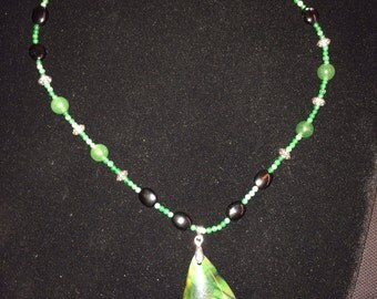 Dragons Vein Agate necklace