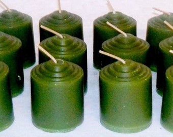 Bayberry Scented  Votive Candles Pick A Pack