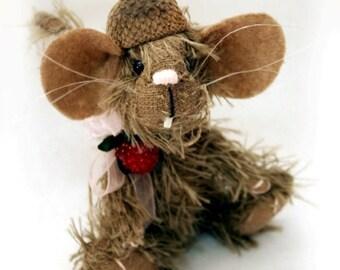 """Pretzel 11cm /4,3"""" Mouse Pattern"""
