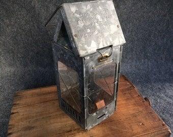 Antique Stonebridge folding lantern 1908