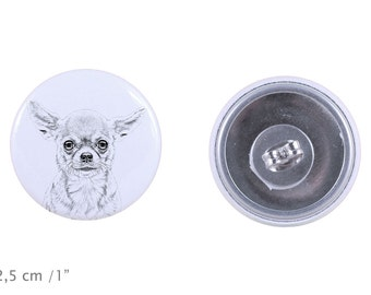 Earrings with a dog - Chihuahua