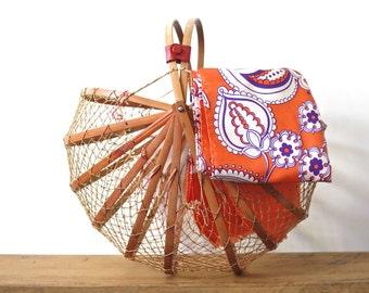 Foldable Vintage Basket