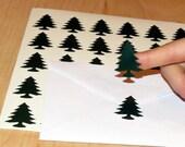 Lumberjack Party Invitation Envelope Seals, Pine Trees, Woodland, Wild One, Wedding Favor Card Labels, Vinyl Decals, Stickers, 30CT, DIY