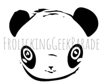 Digital clipart - Panda