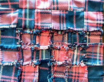 Fleece Rag Blanket