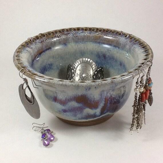 earring holder jewelry bowl jewelry by charlotteleepottery